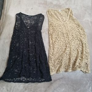 2 Tank Top Swimsuit Cover Ups